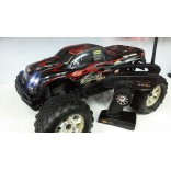 AUTOMODELO SAVAGE FLUX HP BRUSHLESS MANBA MONSTER PARA LIPO 6S 1/8 MONSTER TRUCK BOLHA COM LEDS SEMINOVO HP100646