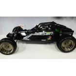 AUTOMODELO KYOSHO NITRO SCORPION XXL GP MOTOR .28 ESCALA 1/7 RÁDIO DIGITAL 2,4GHZ SEMINOVO