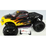 AUTOMODELO MONSTER TRUCK ELDORADA OFF ROAD 1/10 4X4 NITRO MOTOR VTX18 RÁDIO 2.4GHZ HIMOTO HIM HI6101