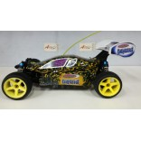 AUTOMODELO SEMI NOVO ELETRICO BUGGY 1/10 4X4 JAMARA LIQUID COM PNEUS ON-ROAD