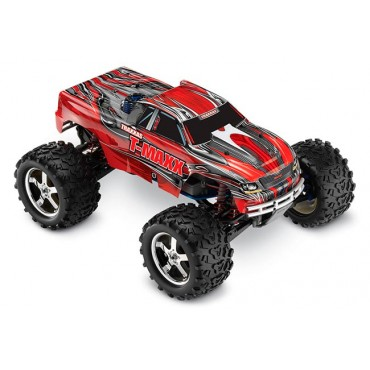AUTOMODELO TRAXXAS T-MAXX 3.3 NITRO POWERED MONSTER TRUCK 1/10 4X4 RADIO 2.4GHZ TQI TRA 49077-3