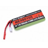 BATERIA LIPO BATTERY 2S 7,4V 600MHA 319 SOLO PRO 319A NINE EAGLES NE480105