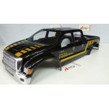 BOLHA F 650 HD 1/8 PINTADA POLÍCIA FEDERAL PARA OFF ROAD MONSTERS REVO, STAMPEDE, SAVAGE, MAD FORCE LHP 0822 PF