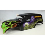 BOLHA 1/8 CHEVY 50 PANEL GRAVE DIGGER MONSTER MAD FORCE / REVO 3.3 / E-REVO / T- E MAXX 3.3 / SAVAGE / SUMMIT / ETC PINTADA LYNX LHP1008 PGR