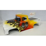 BOLHA PINTADA FORD F100 PARA AUTOMODELOS 1/10 E 1/8 MONSTERS TRUCKS. MAD FORCE, REVO,FW05/06 F100 66