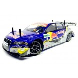 BOLHA TRANSPARENTE AUDI A4 DTM RED BULL PARA AUTOMODELO 1/10 200MM ON ROAD FW06 ETC LYNX LHP1009