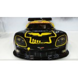 AUTOMODELO KYOSHO INFERNO GT2 VE ELÉTRICO RACE SPEC CORVETTE C6 R 1/8 RÁDIO DIGITAL 2.4GHZ P/ LIPO 4S KYO 30938B PA
