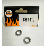 ROLAMENTO BALL BEARING 10X15X4MM HPI B030 PERFECT RC RP80 CONTEM 2 PEÇAS DHK 8381-110 8381110