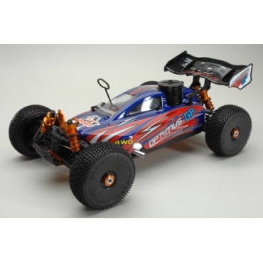 AUTOMODELO NITRO BUGGY OPTIMUS GP 1/8 4WD RTR MOTOR 21 RÁDIO 2.4GHZ OFF ROAD DHK 9381