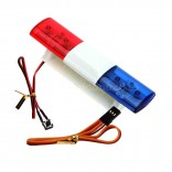 LED POLICIA MULTIFUNÇÃO ULTRA BRIGHT PARA 1/10 1/8 INPUT VOLTAGE 4.8 - 6V DC AX-501MC