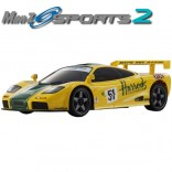 AUTOMODELO KYOSHO MINI-Z MR 03 SPORTS 2 MACLAREN F1 GTR No.51 LM 1995 ESCALA 1/27 RÁDIO 2.4GHZ KT19 KYO 32243HR-B