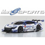 AUTOMODELO KYOSHO MINI-Z MR 03 SPORTS EPSON NSX CONCEPT GT 2014 ESCALA 1/27 RÁDIO 2.4GHZ KYO 32225EP-B