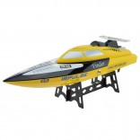 LANCHA ELÉTRICA SPEED RACING BOAT 24KM/H BARCO COMPLETO RADIO 2.4GHZ WLTOYS WL912