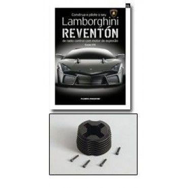 Edicao Fasciculo 56 Cabecote Motor Lamborghini Reventon Da Banca