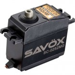 SERVO DIGITAL SAVOX SC 0252 MG METAL GEAR 6V 10.5Kg 0.19S SAV0252