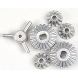 CONJUNTO DE ENGRENAGENS CONICAS DO DIFERENCIAL BEVEL GEAR SET TT-01 TGS TAMIYA TT01 SP-1008 51008
