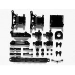 PEÇAS CHASSI KIT A TT-01 SUPERIORES A PARTS UPRIGHT SP-1002 TT01 51002