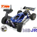 AUTOMODELO COMBUSTÃO BUGGY TEAM MAGIC M8JR SEMI-PRÓ RTR ESCALA 1/8 NITRO 4WD RÁDIO 2.4GHZ TM560006