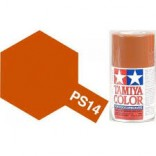 TINTA SPRAY RC PARA BOLHAS COBRE LATA 100ML TAMIYA PS-14