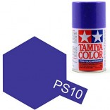 TINTA SPRAY RC PARA BOLHAS ROXO LATA 100ML TAMIYA PS-10