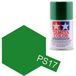 TINTA SPRAY RC PARA BOLHAS VERDE METÁLICO LATA 100ML TAMIYA PS-17