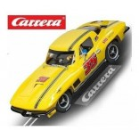 CARRO PARA PISTA ELETRICA AUTORAMA CARRERA EVOLUTION CHEVROLET CORVETTE STING RAY NUMERO 35 ESCALA 1/32 CAR 20027615 CAR20027615