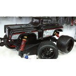 PAR DE RODAS E PNEUS SINTEC MONTADOS MONSTER OFF ROAD 17mm PRETA MAD FORCE MAD S139 P