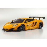 AUTOMODELO KYOSHO MINI-Z MR 03 VE BRUSHLESS MCLAREN 12C GT3 2013 LARANJA  ESCALA 1/27 KYOSHO KYO 32765OR-B