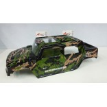 BOLHA HUMMER H2 1/8 PINTADA CAMUFLADA PARA OFF ROAD MONSTERS MAD FORCE, REVO,STAMPEDE,SAVAGE, LYNX LHP0823 CM