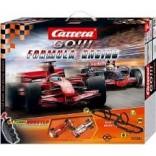 AUTORAMA ELÉTRICO CARRERA GO FÓRMULA 1 RACING COM FERRARI E MCLAREN 1/43 BRINDE + 2 CARROS CAR62081