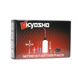 KIT STARTER COMPLETO BIVOLT KYOSHO AQUECEDOR DE VELA E ACESSÓRIOS KYO 73204