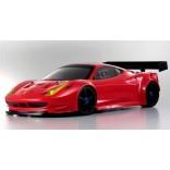 INFERNO GT2 VE RACE SPEC 1/8 FERRARI 458 ITÁLIA ELÉTRICO PARA 4S KYOSHO KYO 30940B