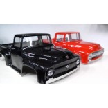 BOLHA TRANSPARENTE FORD F100 PARA AUTOMODELOS 1/10 E 1/8 MONSTERS TRUCKS.MAD FORCE,REVO