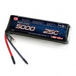 BATERIA LIPO VENOM 4S 14.8V 5000MAH 25C VENOM GROUP 15019
