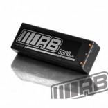 BATERIA LIPO 2S 7,4V 5200MAH 45C HARD CASE RB MARCA FRANCESA RB 240015