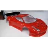 BOLHA 1/8 PARA INFERNO GT2 FERRARI 458 ITALIA TRANSPARENTE RC CUSTOM RCCFTRANSPARENTE