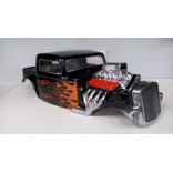 BOLHA 1/8 RAT ROD 3.3 PARA MONSTER REVO 3.3 / E-REVO / T-E MAXX 3.3 / SAVAGE / SUMMIT / MAD FORCE , ETC PINTADA LYNX LHP0957PCC