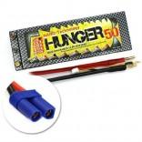 BATERIA DE LIPO HUNGER NANO TECH 2S 7.4V 5000Mah 25/50C HARD CASE RC03363