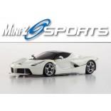 AUTOMODELO KYOSHO MINI-Z MR 03 SPORTS FERRARI BRANCA RACER ESCALA 1/27 RÁDIO 2.4GhzKYO 32212W-B
