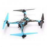 DRONE QUADRICÓPTERO GALAXY VISITOR 6 GV6 AZUL 4 CANAIS COM CÂMERA HD WI-FI NINE EAGLES NES 201884