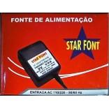 CONVERSOR 30W ENTRADA AC 110V SAÍDA AC 220V 50/60 Hz STAR FONT STF4801