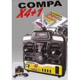 RÁDIO CONTROLE COMPA X4EN1 TRAINER 35 MHz SEM SERVOS JAMARA JAM061047