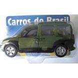 MINIATURAS CARROS DO BRASIL FIAT DOBLÔ ADVENTURE
