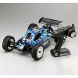 AUTOMODELO KYOSHO BUGGY DBX 2.0 NITRO T1 NA COR AZUL 1/10 4WD RADIO 2.4GHz MOTOR GXR 18SP KYO 31098T1B