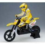 MOTO RC ANDERSON MOTOCROSS ELÉTRICA RTR PRO M5 EP ESCALA 1/5 BRUSHLESS AMARELA M1105
