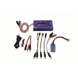 JAM152030 - CARREGADOR, BALANCEADOR E DESCARREGADOR X PEAK 3 EVO COM SOFTWARE E CABO USB - JAMARA
